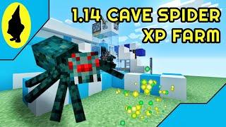 Minecraft   1.14 CAVE SPIDER XP GRINDER FARM EASY TUTORIAL