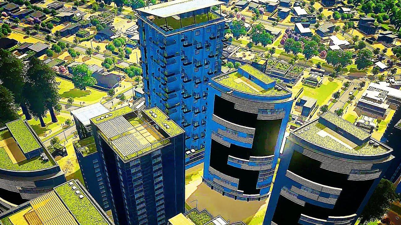 Image result for cities skylines green cities