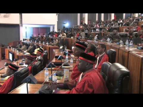 Ceremony to Launch the Judicial Year 2011-2012 | Part II