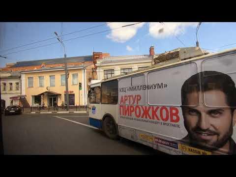 Ярославль, маршрут 5: ЗиУ-682Г-016.02, №141 / Yaroslavl Trolleybus, Route 5: ZiU-682G-016.02