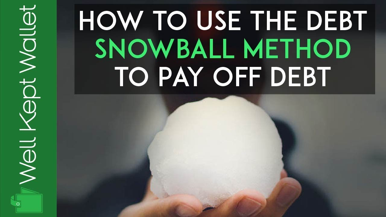 How to Use the Debt Snowball Method to Pay Off Debt (Free ...