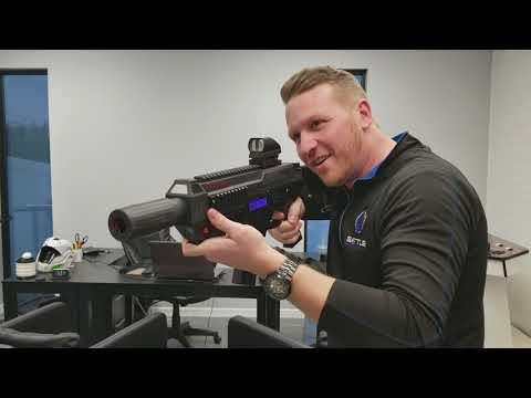 BRM - Metal Laser Tag Gun - M4 - Recoil - Mag Reload - Real Rifle Feel