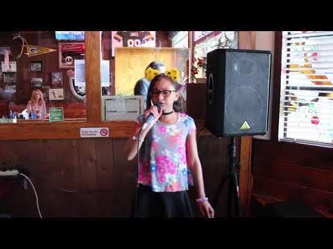 10-Year Old Miss Deja sings Issues