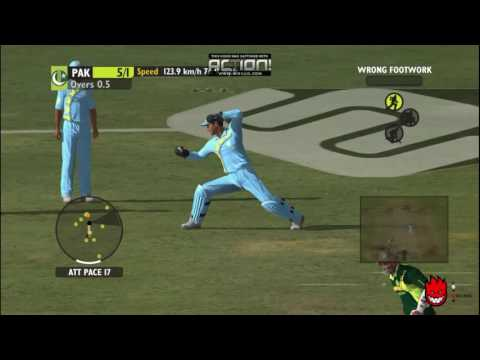 India Vs Pakistan - Ashes Cricket 2009