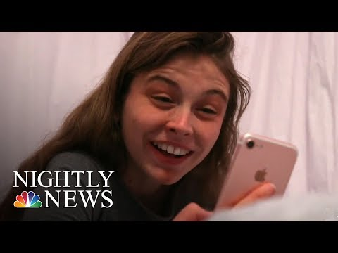 The Link Between Smartphones And Kids' Mental Health | NBC Nightly News