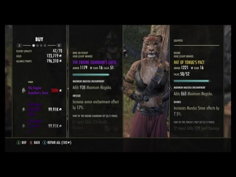 ESO Undaunted Vendor Week 1 Recommendations