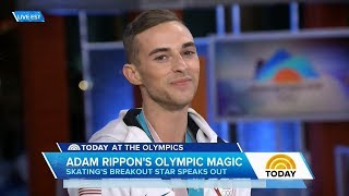 Adam Rippon Today Show Olympic Interview | LIVE 2-19-18