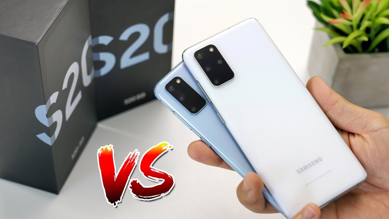Galaxy S20 vs S20 Plus Unboxing + Camera Test with TOF!