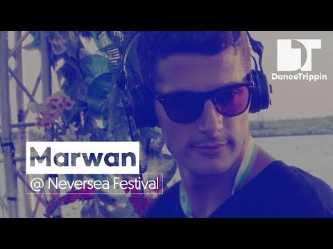 Marwan on the Daydreaming Stage at Neversea Festival (Romania)