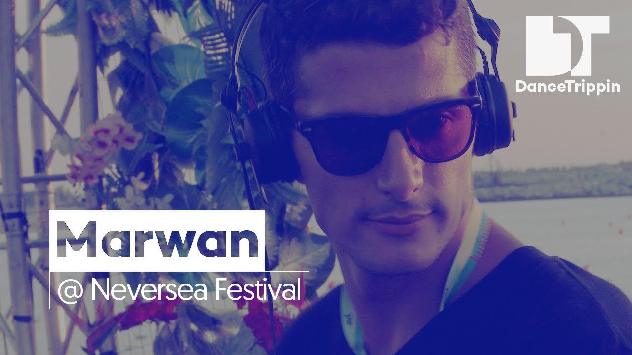Marwan on the Daydreaming Stage at Neversea Festival (Romania) #1