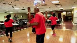 Sam The Beast From The East- DMV(Throw Your Leg Up) Line Dancing With Mr.G