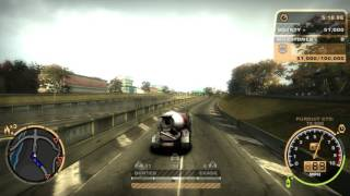 Need For Speed: Most Wanted(2005): Challenge Series: #50: Cement Truck