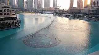 The Dubai Fountain (Dancing Fountain) at The Dubai Mall