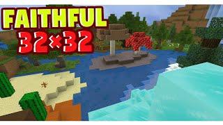 Nova Atualização da Textura Faithful 32x32 Para Minecraft Pocket Edition