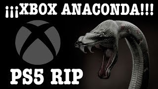 ¡¡¡XBOX ANACONDA ES UNA BESTIA EL DOBLE DE POTENCIA QUE PS5!!! ( PARA VOSOTROS FANBOYS DE SONY )
