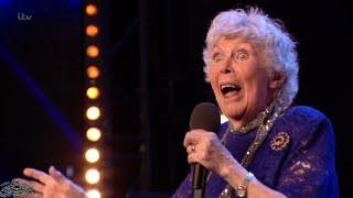 Britain's Got Talent 2018 Audrey Leybourne 90-Year Old Singer Full Audition S12E04