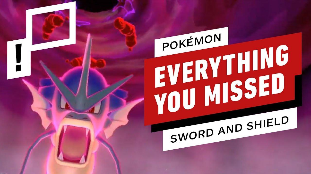 Pokemon Sword And Shield Direct Trailer Breakdown Rewind Theater