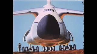 C-5 Galaxy Airplane Vintage Documentary