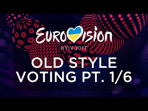 EUROVISION 2017 // OLD STYLE VOTING PT. 1/6