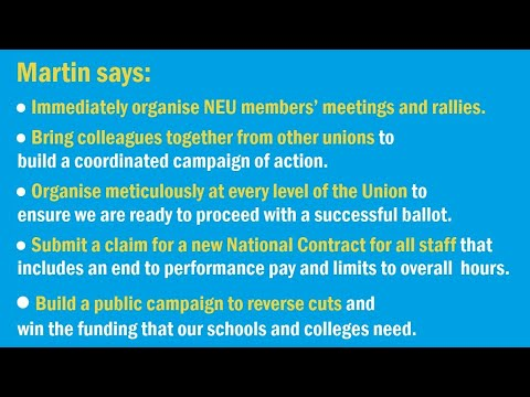 Why the NEU has to make a stand against the pay freeze and National Insurance increases, and sets out his strategy to win on pay, workload and education funding.