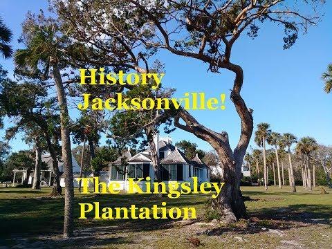 The Kingsley Plantation - Cotton, Slavery, & Survival on Ft George Island