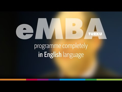 EMBA Turku - using English language in the programme