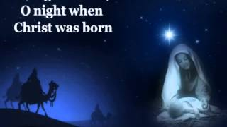 O Holy Night with lyrics:Celine Dion