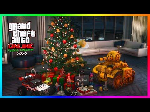 Rockstar Christmas 2020 GTA 5 Online Christmas DLC Festive Surprise 2020 Update   How