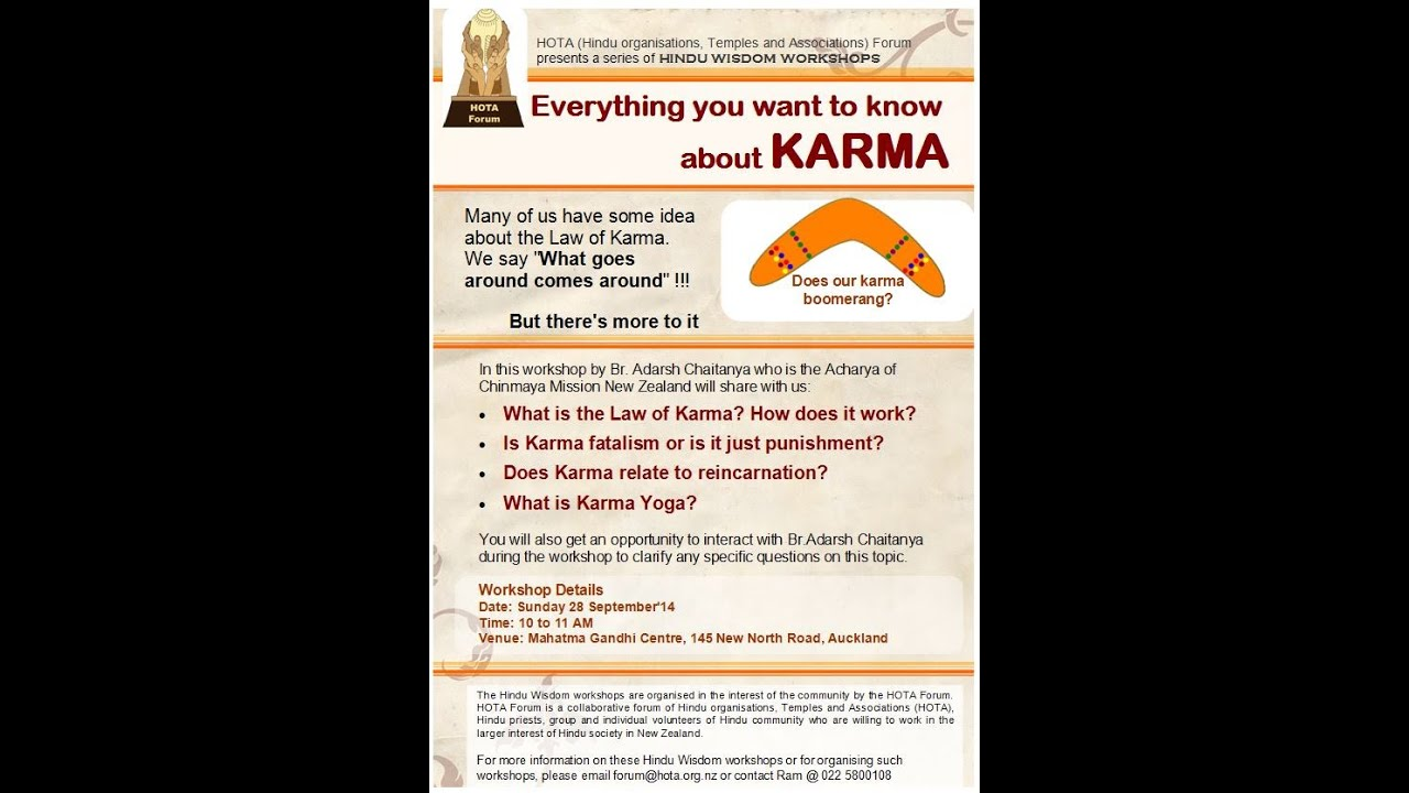 IN HINDUISM WHAT IS KARMA CHAMELEON