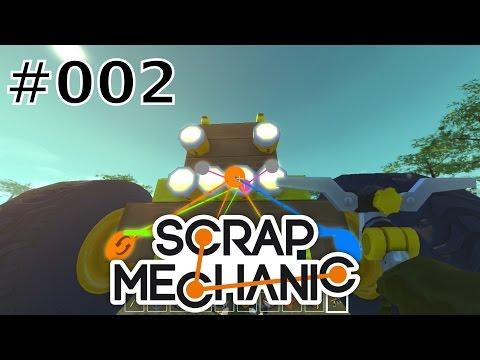 Scrap Mechanic [#002] - Es sieht aus wie ein Traktor! Oder? [1080p|60FPS]