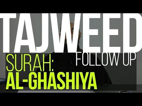 Tajweed Follow Up | Surah 88 Al-Ghashiya | Wisam Sharieff | Quran Revolution