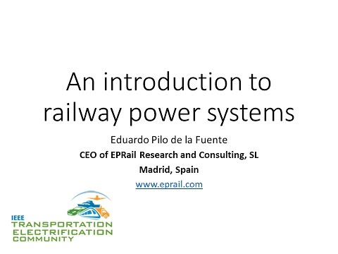 An introduction to railway power systems