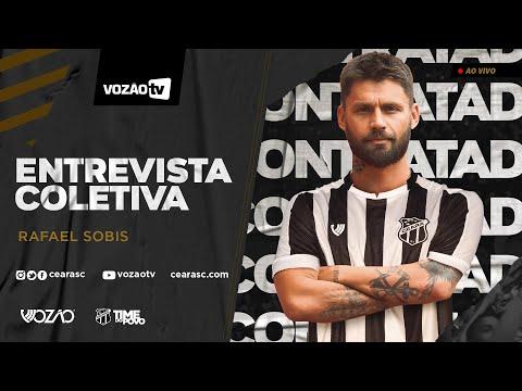 COLETIVA Apresentação Rafael Sobis  16012020  Vozão TV