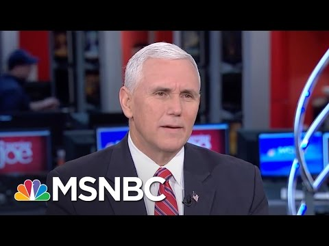 Mike Pence: Donald Trump Will Be President For All Americans (Full) | Morning Joe | MSNBC