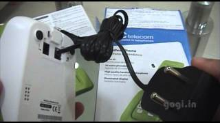 SPCtelecom 6222V Cordless landline phone unboxing and review