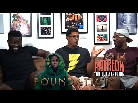 Foundation Patreon Trailer Reaction