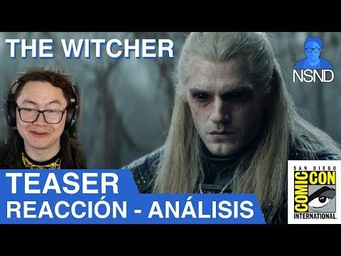 THE WITCHER   Teaser (SDCC 2019)   REACCIÓN   ANÁLISIS