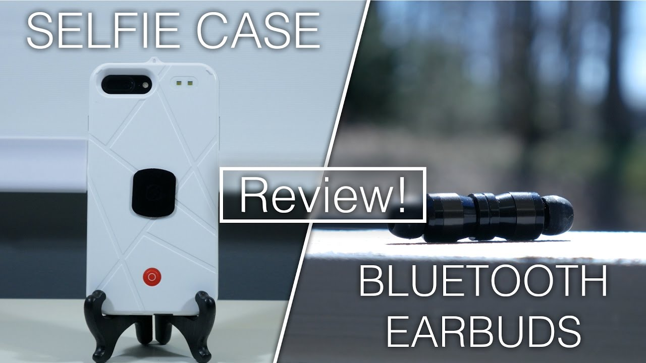 selfie case bluetooth earbuds review ideals life products youtube. Black Bedroom Furniture Sets. Home Design Ideas