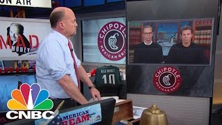 Chipotle Co-CEOs: Implementing Food Safety Innovation | Mad Money | CNBC