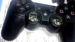 ремонт джойстика Dualshock Playstation 3  Живёт своей жизнью сука!
