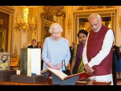 PM Narendra Modi's Gift to Queen Elizabeth