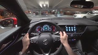 2018 Buick Regal GS - POV Night Drive (Binaural Audio)