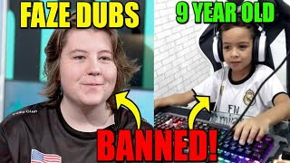 FaZe Dubs BANNED From Fortnite?? Epic BANNED a 9 Year Old For 4 YEARS.. WHY?