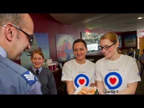 RAF Benevolent Fund awards winners - RAF High Wycombe