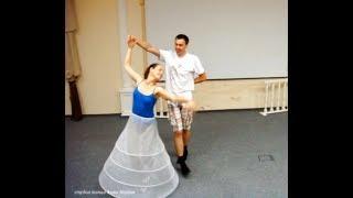 урок свадебного танца, первый танец жениха и невесты