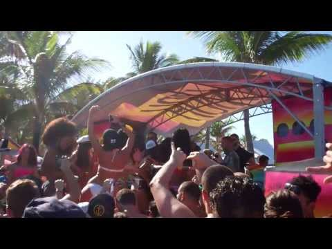Diplo HolyShip!!! 2014 Private Island Beach party