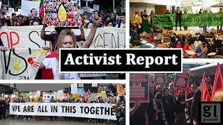 Global climate strike features in this week's Activist Report