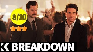 Breakdown: Mission Impossible - Fallout (2018) Tom Cruise, Henry Cavill, Simon Pegg