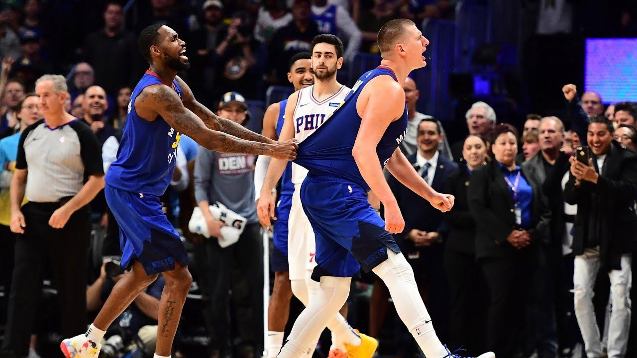 Nikola Jokic Hits Game Winner Vs. 76ers | Denver Nuggets Win