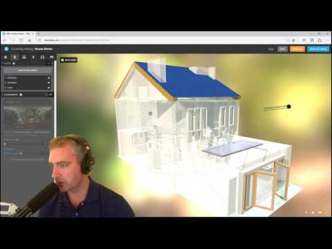 Sweet Home 3D Export To Sketchfab Online HTML Viewer
